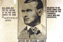Jesse James wanted poster