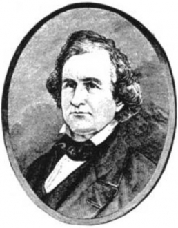 Old drawing of William Carr Lane - St. Louis Mayor